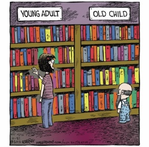 Young adult vs old adult