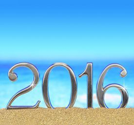 Beach new year 2016